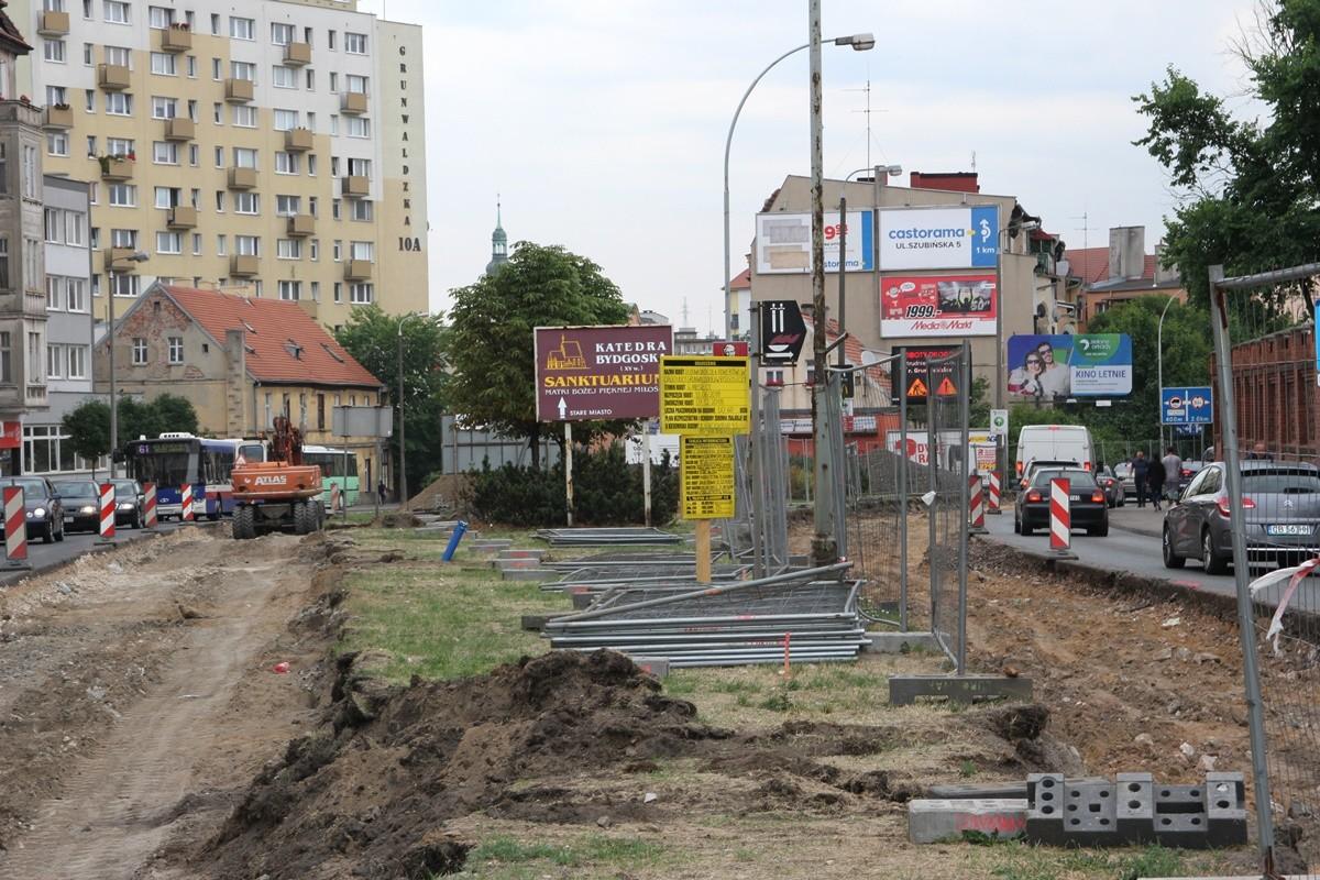 remont_ ul. Grunwaldzka Bydgoszcz_ SF-1