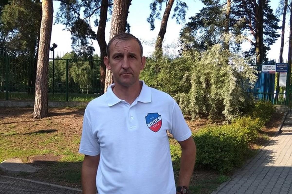 robert tomczak_ nowy trener KS Unia Solec Kujawski