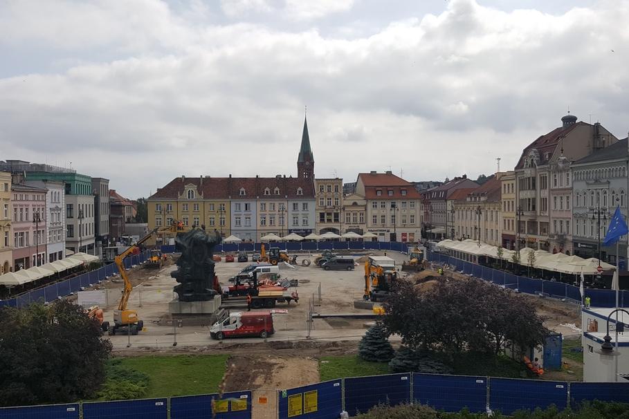 Stary Rynek Bydgoszcz remont