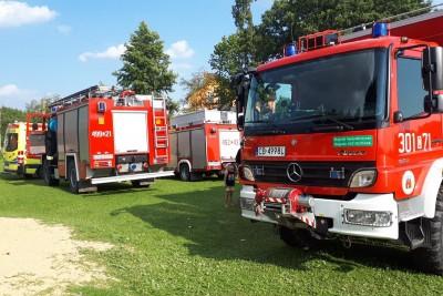 straż pożarna_ akcja ratunkowa plaża Wąsosz_ Maciej Rejment