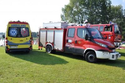 straż pożarna_ambulans - na sygnale_ Maciej Rejment