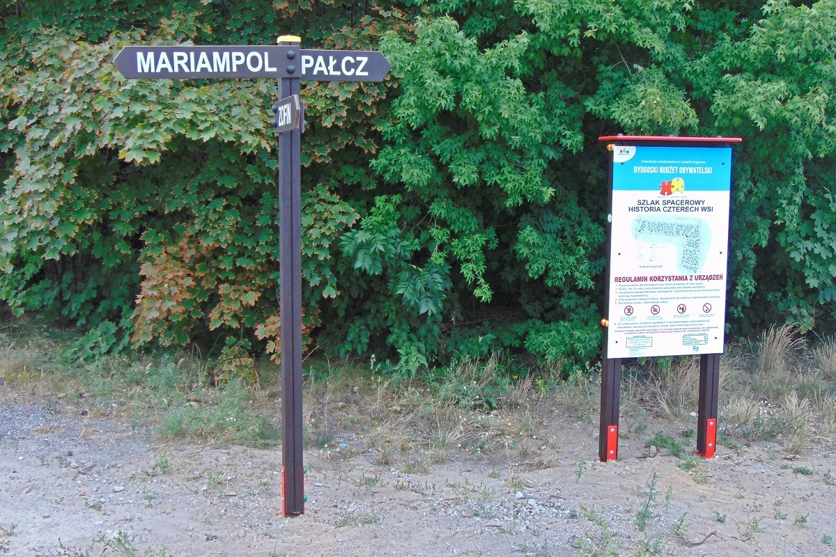 szlak historia czterech wsi fordon bbo łoskoń pałcz zofin mariampol bb 01