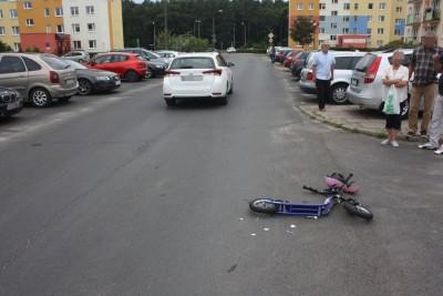 wypadek_ Grudziądz, ul. Skarżyńskiego - KMP Grudziądz