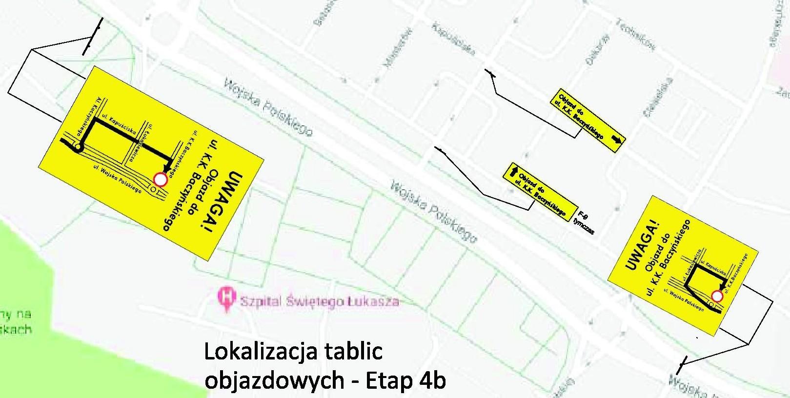 Lokalizacja_tablic_objazdy_etap 4b