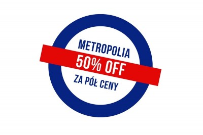 Metropolia za pół ceny - logo