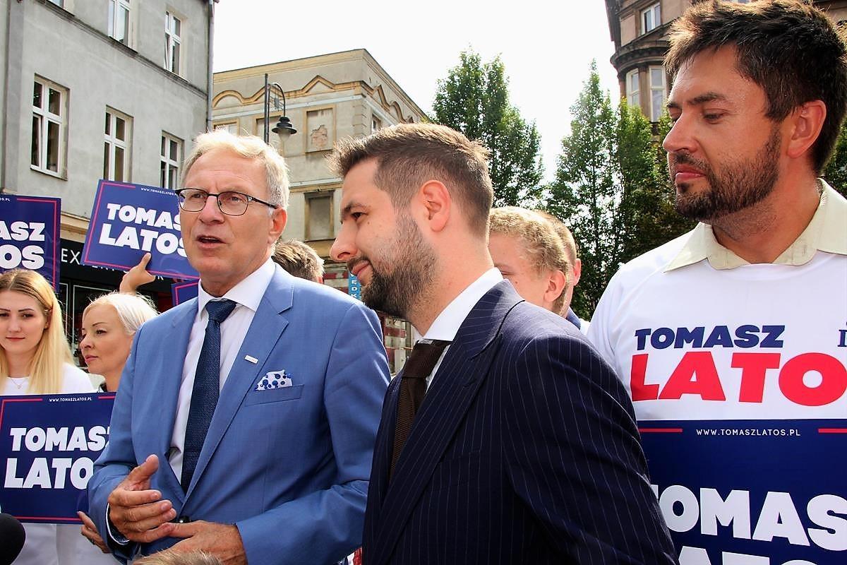 Tomasz Latos Patryk Jaki Bydgoszcz