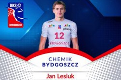 chemik bydgoszcz_plusliga - Jan Lesiuk