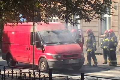 pożar auta dostawczego_ Pomorska-Bydgoszcz_ SF-2