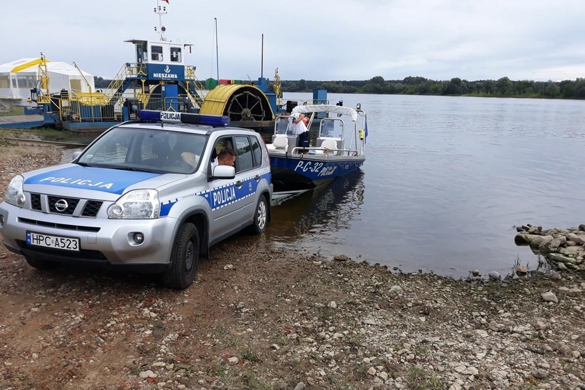 policja_ poszukiwania_ utonięcie- kujawsko-pomorskie