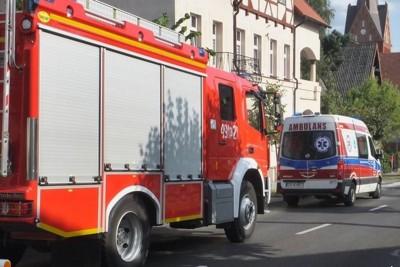 straż pożarna, ambulans_ na sygnale - Zbigniew Kubisz