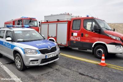 straż pożarna, policja_ na sygnale - wypadek-1_ MR