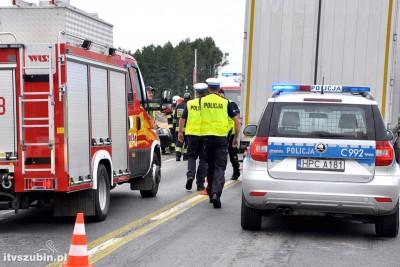 straż pożarna, policja_ na sygnale - wypadek-3_ MR