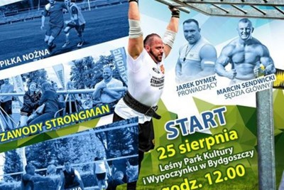 strongman, fragment plakatu