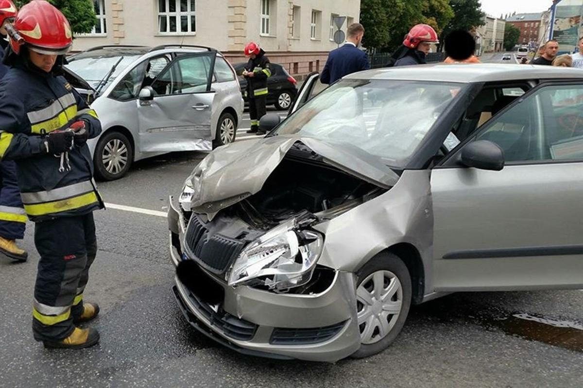 wypadek_ rondo Jagiellonów Bydgoszcz_ Krystian Andruszczenko