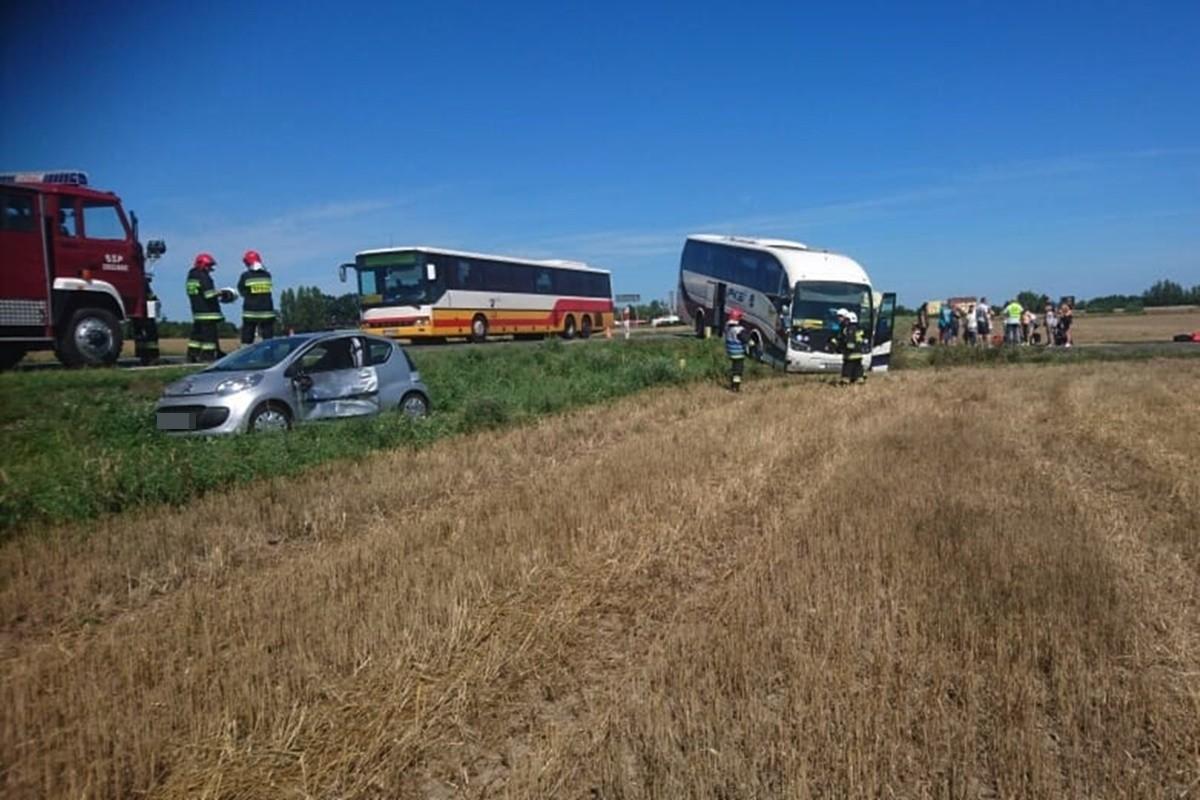 wypadek_DK25-Stopka_ Krystian Andruszczenko