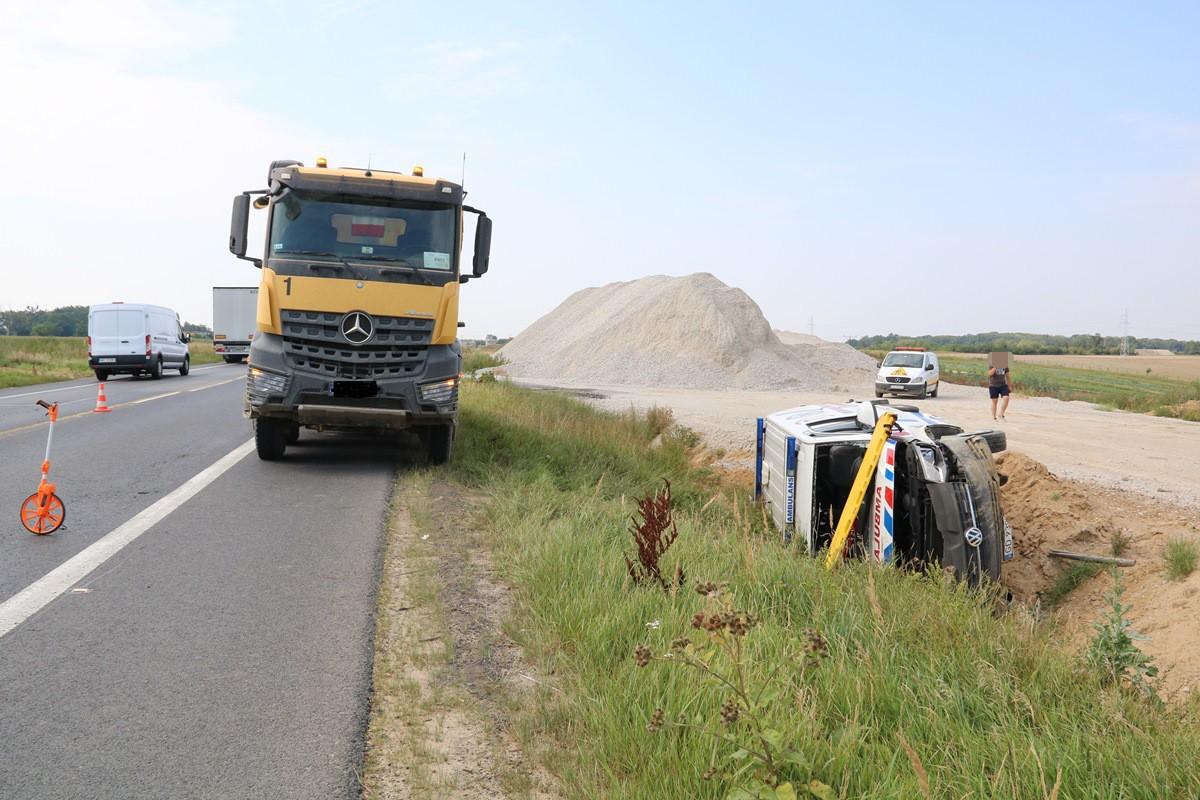 wypadek_DK5 Bydgoszcz-Świecie_ KPP Świece