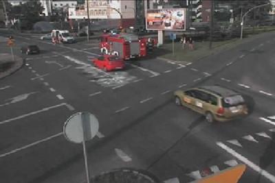 wypadek_rondo jagiellonów Bydgoszcz_ ITS