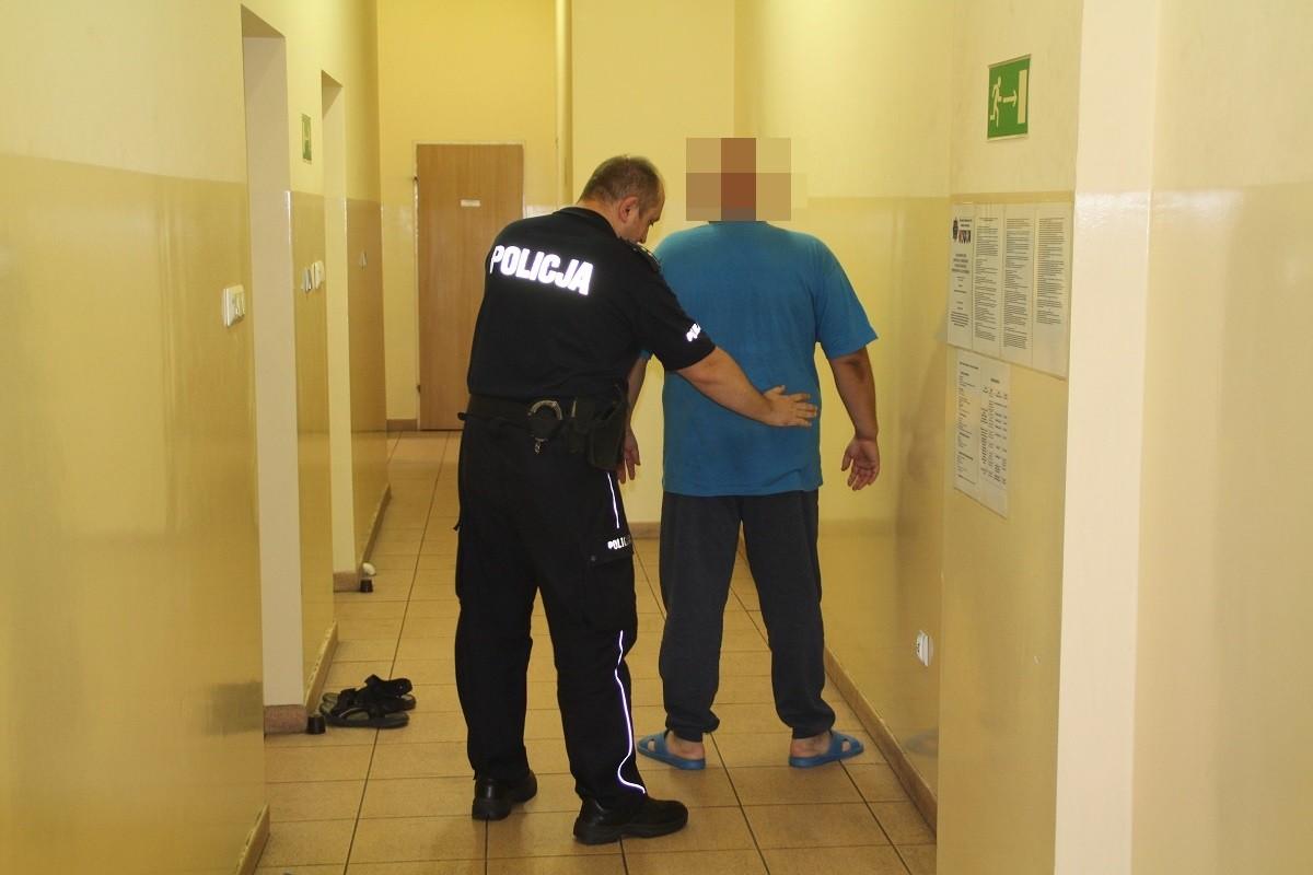 zatrzymany podejrzany