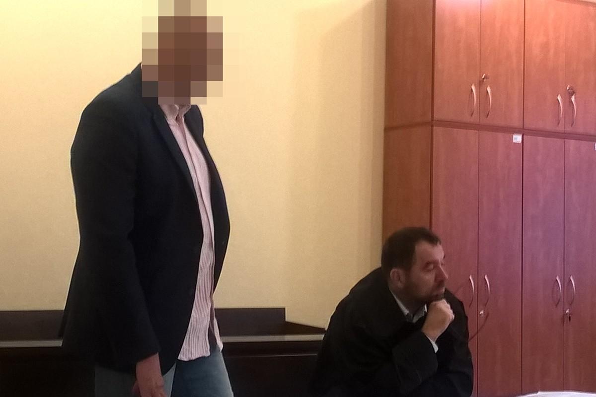 Hubert B., adw. Marcin Taczalski - proces po rozbudowe pubu Jack_ Sąd Rejonowy Bydgoszcz - SF