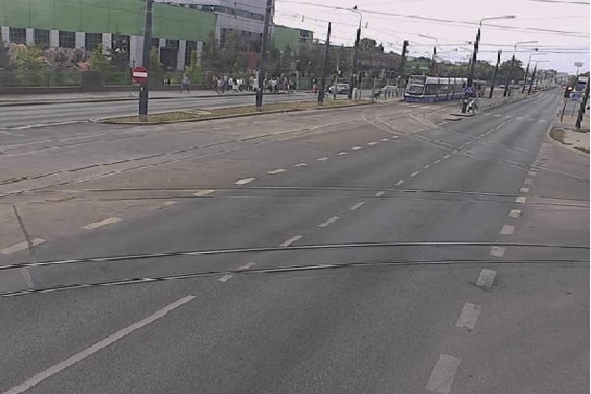 awaria tramwaju_kierunek Bydgoszcz Wschód- ITS