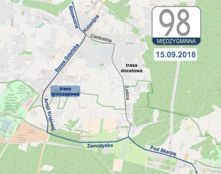 linia 98 - umb