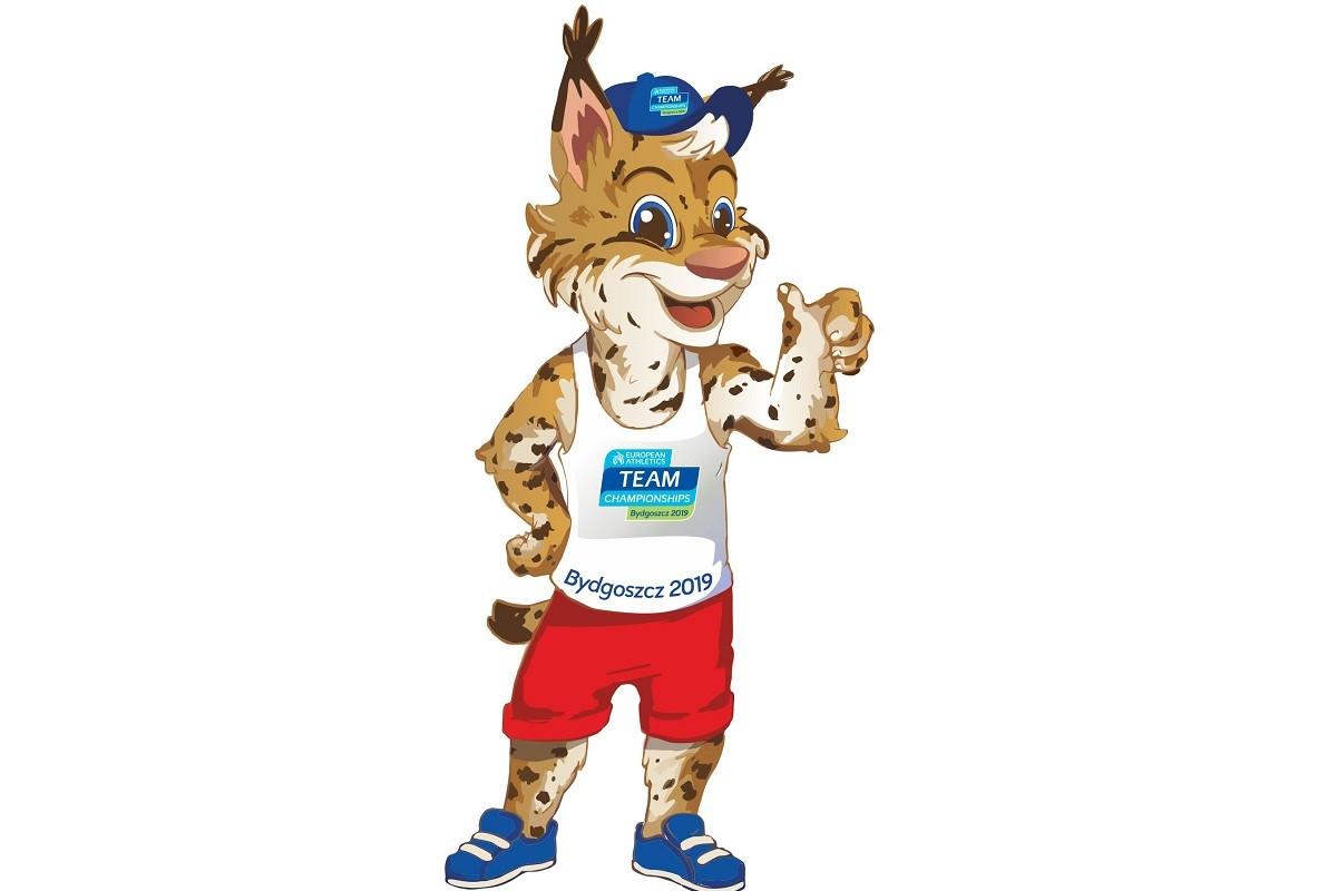 maskotka mistrzostwa europy bydgoszcz 2019