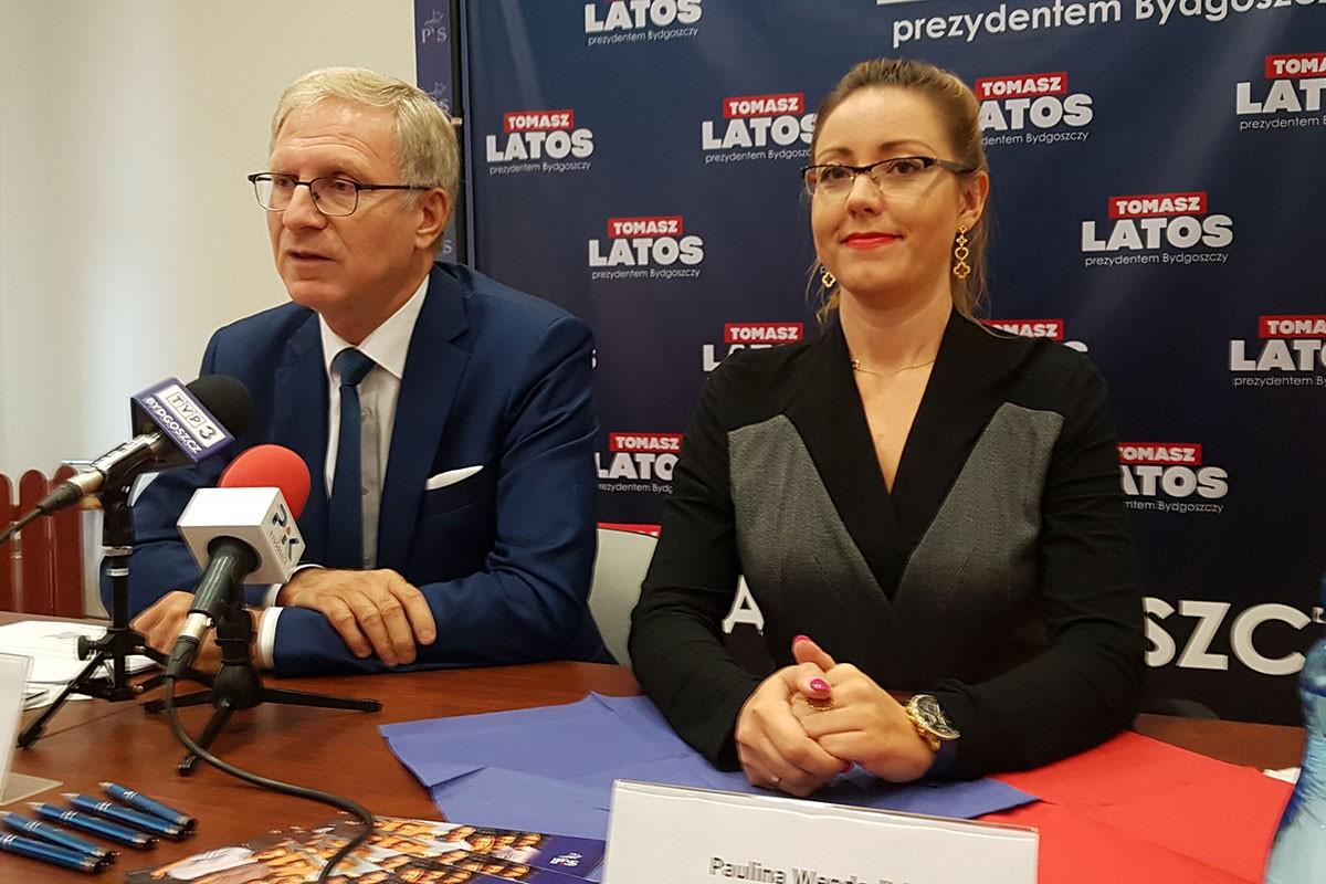 Tomasz Latos Paulina Wenderlich