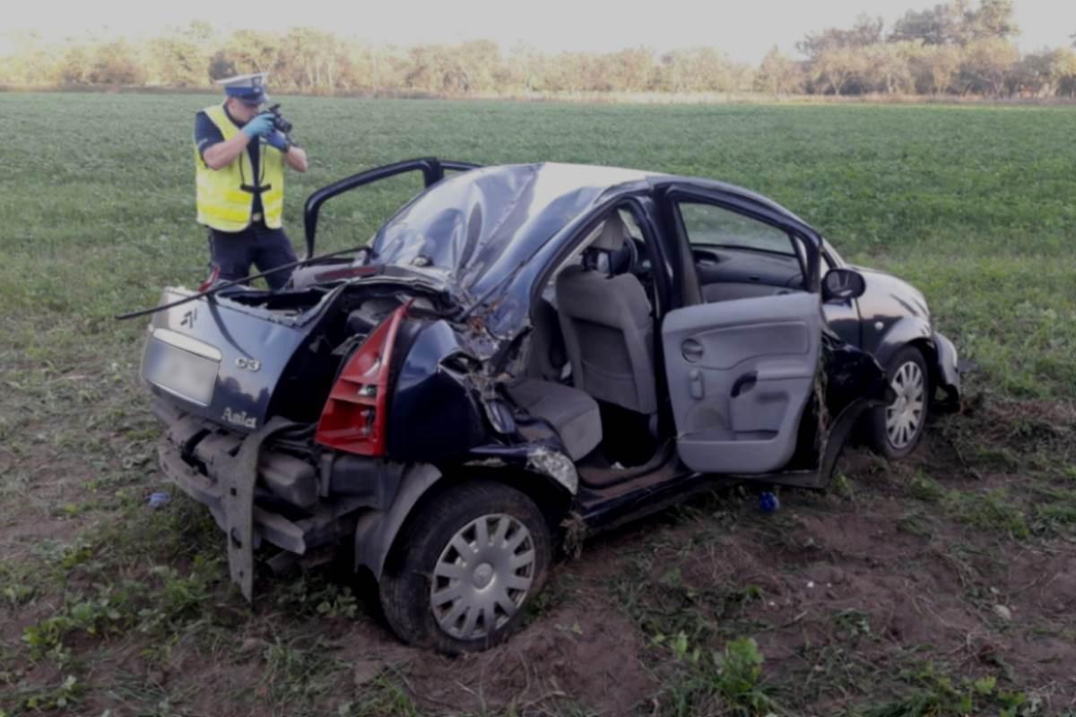 wypadek Gruczno - KPP Świecie (3)