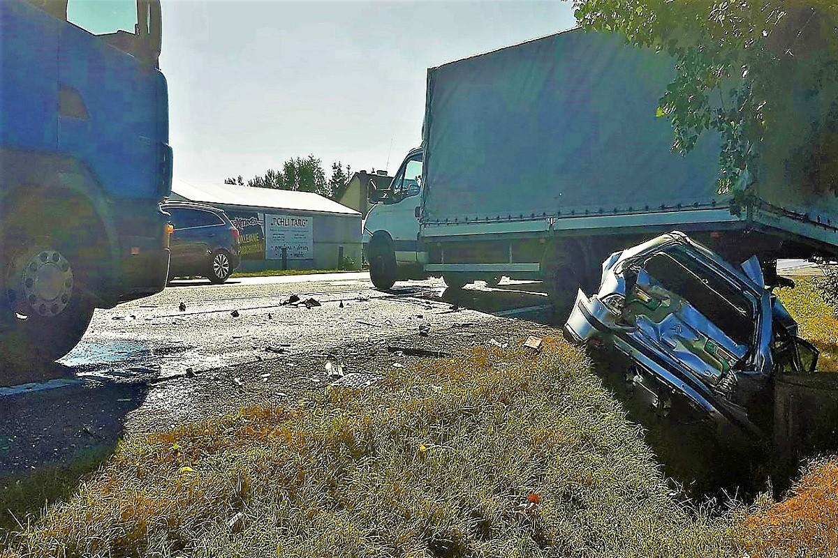 wypadek Osielsko1