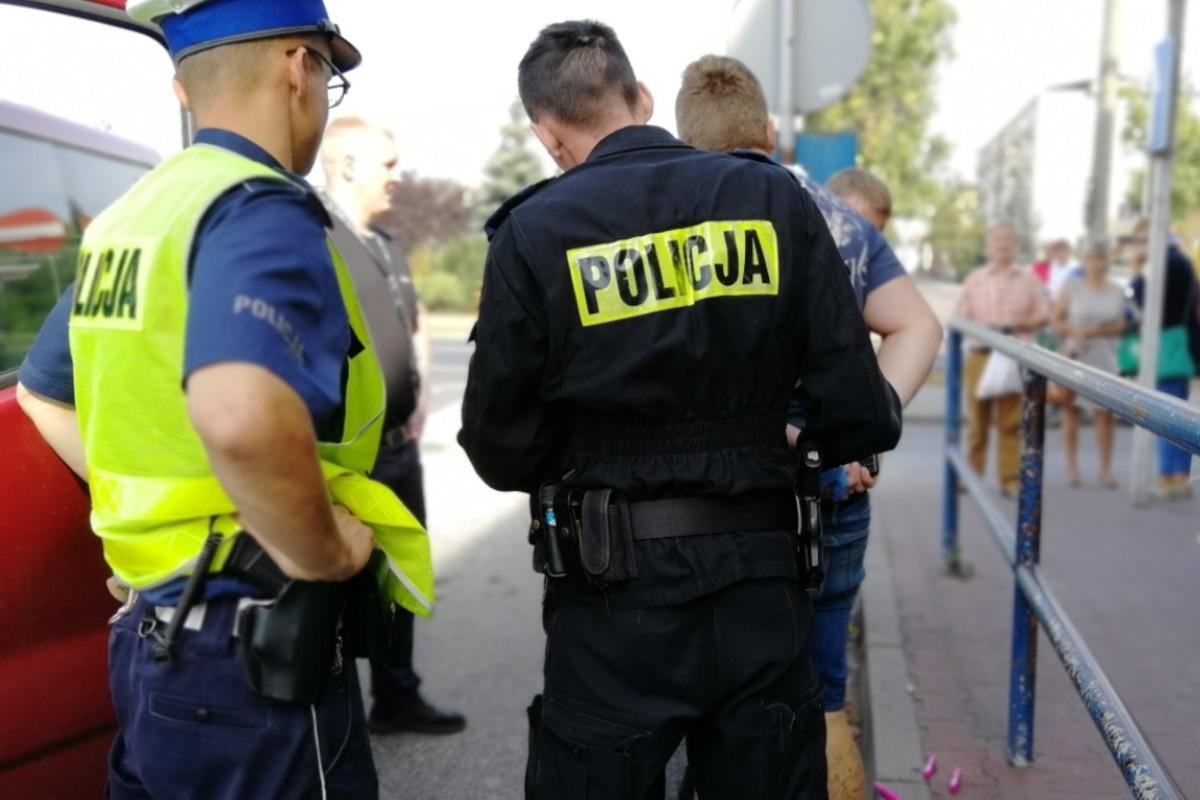 zatrzymanie_ kradzież - KPP Świecie