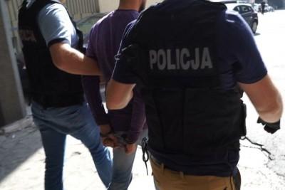 zatrzymanie_ grupa przestępcza wyłudzająca pieniądze metodą na policjanta - KWP Gdańk