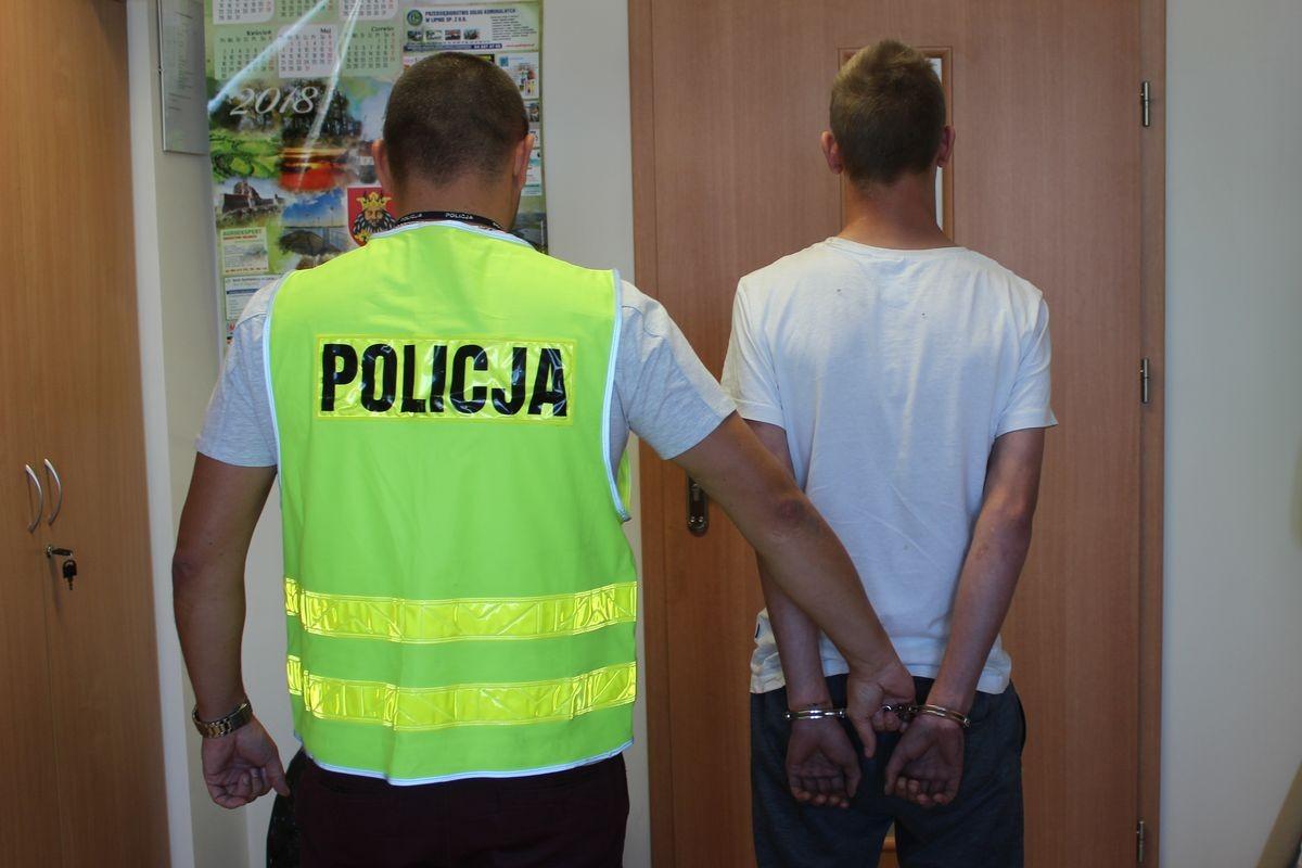 zatrzymany, policja lipno - kpp