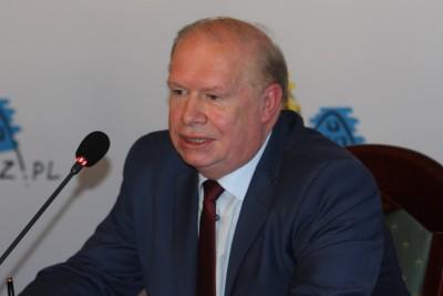 Jerzy Kanclerz_ prezes ŻKS Polonia Bydgoszcz S.A._ SF