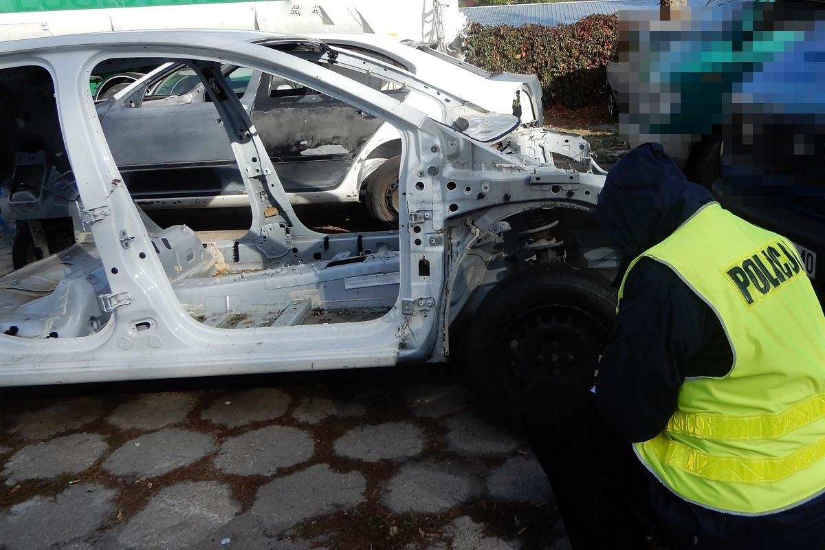 Zlikwidowana dziupla samochodowa_ KPP Włocławek (8)