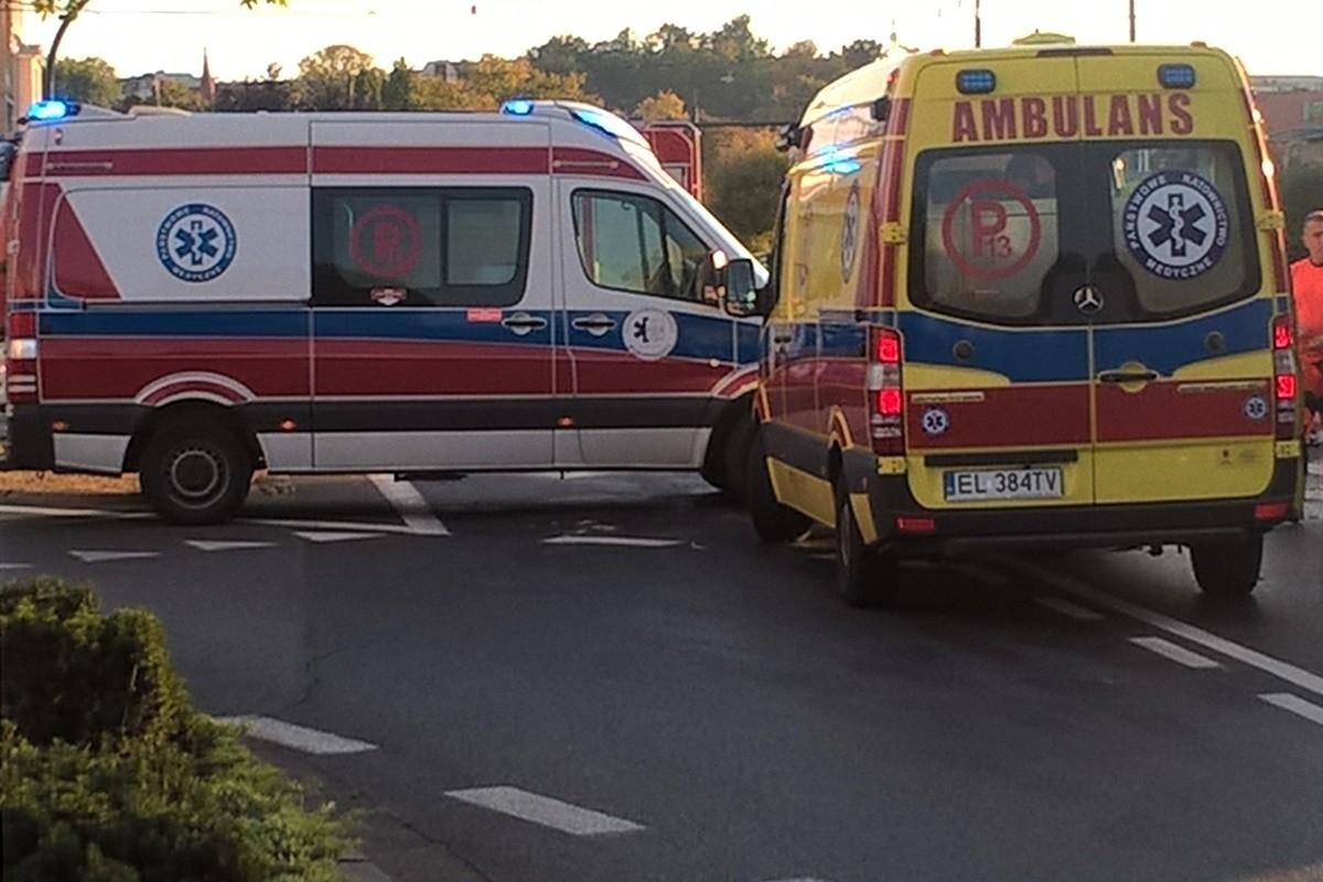 ambulans P_ na sygnale - SF