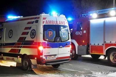ambulans, straż pożarna_ na sygnale - Zbigniew Kubisz -1