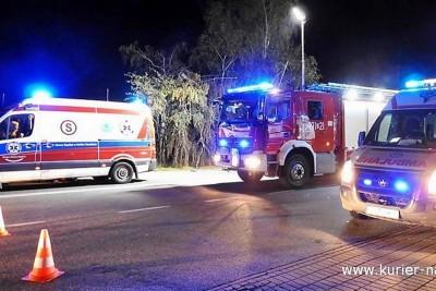 ambulans, straż pożarna_ na sygnale - Zbigniew Kubisz