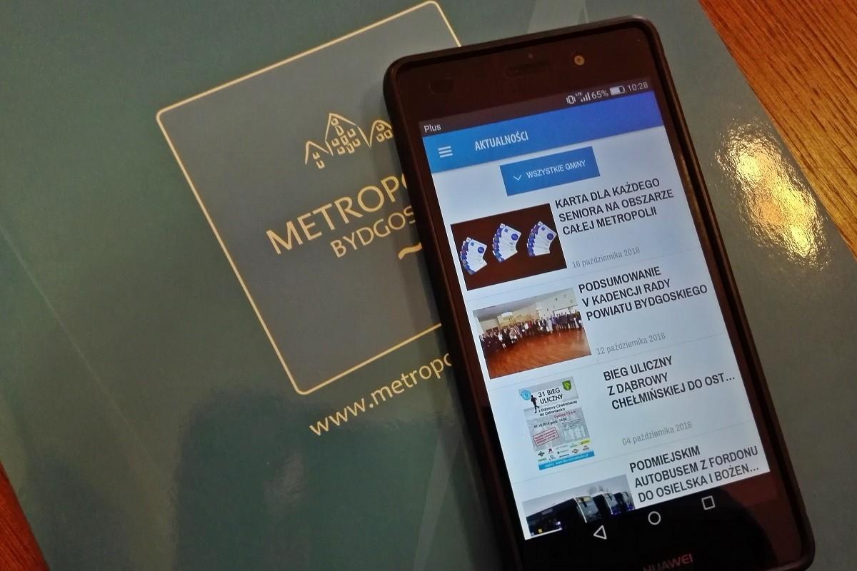 aplikacja metropolia bydgoszcz