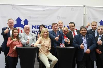 debata kandydatów na prezydenta Bydgoszczy - Marcin Sypniewski i sztab CB2018.PL_ SF