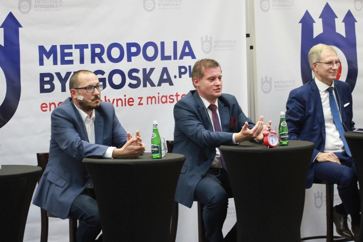 debata kandydatów na prezydenta Bydgoszczy - Paweł Skutecki, Marcin Sypniewski, Tomasz Latos - SF