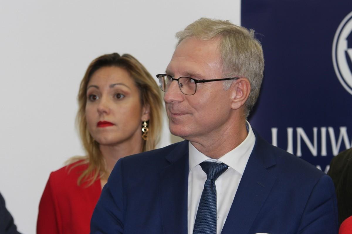 debata kandydatów na prezydenta Bydgoszczy_ Tomasz Latos, Paulina Wenderlich _ SF