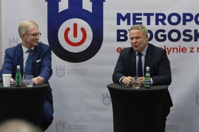 debata kandydatów na prezydenta Bydgoszczy_ Tomasz Latos, Rafał Bruski - SF