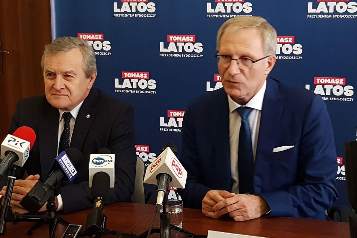 Piotr Gliński Tomasz Latos