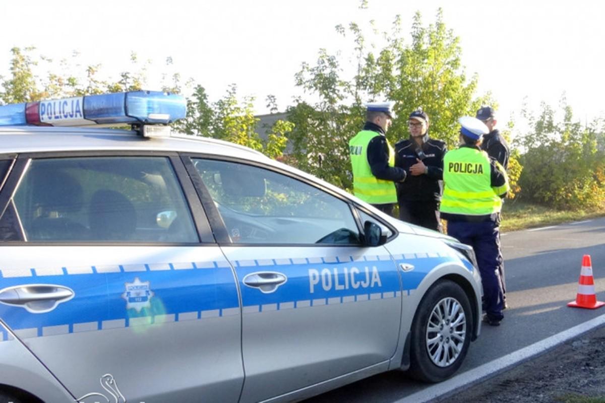 policja_ na sygnale_ Maciej Rejment