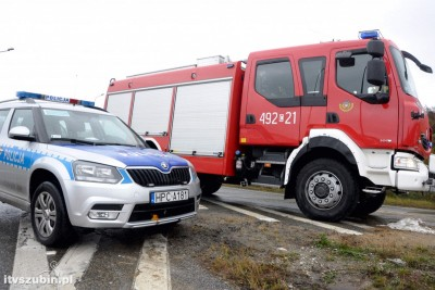 straż pożarna, policja_ na sygnale - Maciej Rejment