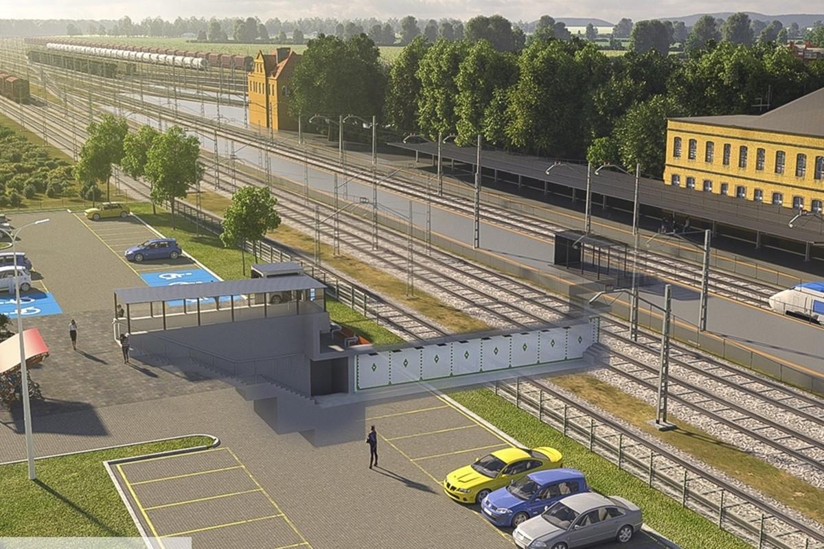 tereny wokół dworca PKP Inowrocław_wizualizacje-2