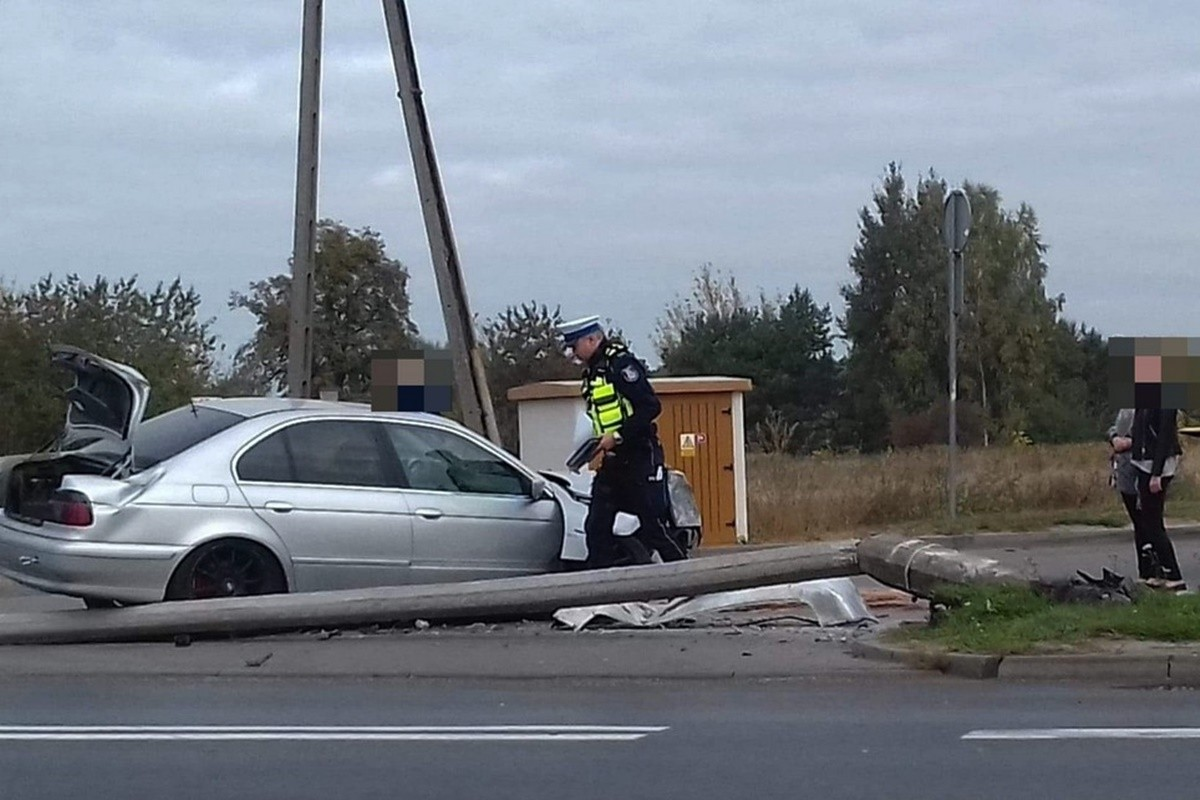 wypadek Ciechocinek_ KPP Aleksandrów Kujawski
