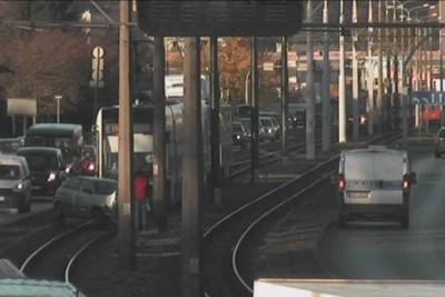 wypadek_ torowisko Fordońska-Fabryczna_ ITS Bydgoszcz