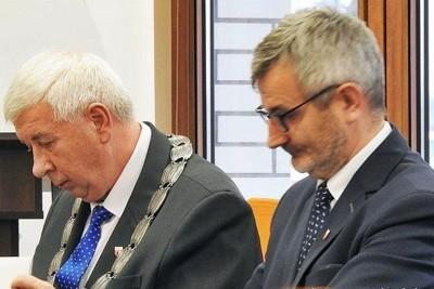 Tadeusz Sobol, Tomasz Miłowski - starosta, z-ca starosty powiatu nakielskiego_kadencja 2018-2023_ ZK