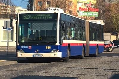 autobus_ linia 52 kierunek Podkowa (pętla Błonie)_ SF